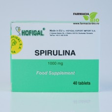 Spirulina 1000mg - 40cpr - Hofigal