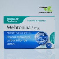 Melatonina sublinguala 3mg - 30cpr - Rotta Natura